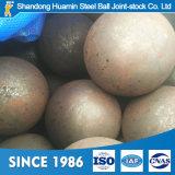 Reibende Stahlkugeln Durchmesser-20mm-150mm verwendet im Kupfer, Goldmineralaufbereiten, Kohle-Pflanze