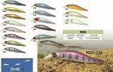 Attrait de coulage sec de pêche de Swimbait 95mm de cadre de palan de pêcheur