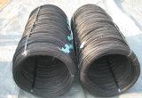 Fio revestido de aço galvanizado mergulhado elétrico e quente do fio/PVC/fio recozido preto