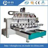 Bett-Beine, die 4 Mittellinie CNC-Fräser-Maschine gravieren