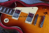 Guitare électrique de Lp de tigre de 1959 R9 Vos de flamme de dessus fait sur commande d'érable