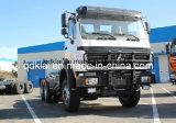 高品質420HPの北のベンツのBeiben 6X6のトラクターのトラック