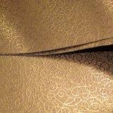 Couro não tecido do plutônio do projeto do vintage, couro para a decoração