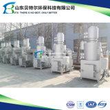 Inceneratore residuo farmaceutico, bruciatore doppio di eliminazione dei rifiuti degli alloggiamenti