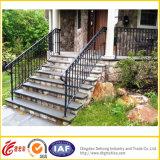 Balustrade d'escalier de fer travaillé
