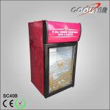 Bunter Flasche-Gespeicherter kühlenschaukasten (SC-40B)