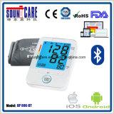 Moniteur sans fil électronique de pression sanguine du bras Bt4.0 (point d'ébullition 80K-BT) avec contre éclairé