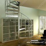DIY 현대 스테인리스 나선 실내 계단