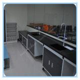 Cフレームの鋼鉄木製の実験室のサイド・ベンチ