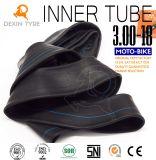 Cámara natural original 3.00-18 de la bici del motor del tubo interno del tubo de la motocicleta del tubo de goma