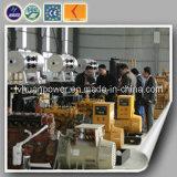 Potência grande silenciosa do recipiente jogo de gerador do gás natural de 600 quilowatts