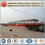 Rimorchio allungabile del camion del semirimorchio del trasporto della lamierina di rotore del vento dei 3 assi