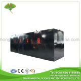 Depuradora de aguas residuales del conjunto para la eliminación doméstica de las aguas residuales
