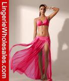Юбка сексуального пляжа марли цвета женщин 5 макси