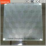 blanc de 4.38mm-52mm/gris clair/bleu/jaune/PVB en bronze, verre feuilleté de sûreté de Sgp avec le certificat de SGCC/Ce&CCC&ISO pour la balustrade, partition, frontière de sécurité