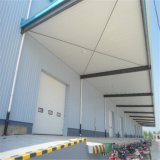 Construction préfabriquée de structure métallique de coût bas (ZY258)