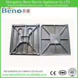 De aluminio Placa de calentamiento para calentar la máquina de prensa