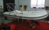 12.8FT 3.9m de Kleine Goedkope Boot van de Rib, Vissersboot, de Boot van de Glasvezel, pvc en Boot Hypalon met Ce Cert. voor Verkoop