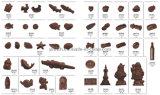 O molde do chocolate personalizou o molde do chocolate