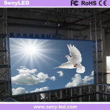 pantalla a todo color al aire libre de interior de fundición a presión a troquel de 500X500m m LED para la visualización video que hace publicidad para el alquiler