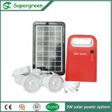 potencia de 1W LED con la Sistema Solar de Choies del color de la variedad de la batería