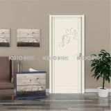 Подгонянная дверь качания предохранения от новая WPC Environemtal материальная нутряная (YM-067)