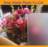 Branco e folha acrílica geada preto 5mm densamente