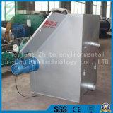Tipo economizzatore d'energia separatore del solido liquido, macchina d'asciugamento dello schermo di diagonale di compressione del concime verde