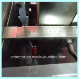 Machine de découpage de connecteur de coin de profil de guichet en aluminium