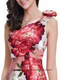 نساء [أن-شوولدر] طبق خاصّ بالأزهار [إفنينغ برتي] [بروم] ثوب