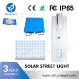 Luz de rua 6W-120W solar Integrated clara ao ar livre do diodo emissor de luz com de controle remoto