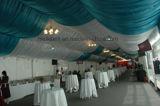 Romantische Hochzeits-Dekoration-weißes grosses Zelt