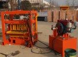 Bloco hidráulico da cavidade do motor QT4-40 Diesel que faz a máquina