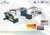 Machine de découpage de papier de roulis de haute précision d'OR