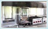 Легкая закуска обрабатывая тележку машинного оборудования/еды/поставщика трейлера еды