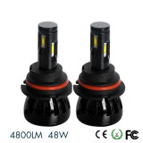 Jogos H1 H3 H4 H7 H8 H11 H13 880 do bulbo do farol do diodo emissor de luz do carro de G6 4800lm 48W 881 9005 9006 5202 farol de 9012 diodos emissores de luz