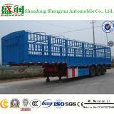 Type de frontière de sécurité de pieu remorque semi pour le transport de cargaison en bloc