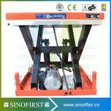 hydraulische 1000kg Scissor Aufzug-Tisch