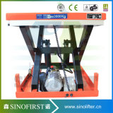 1ton to 5ton Fixed Electric Hydraulic Scissor Lift with Ce