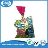 Großhandelsform-Entwurfs-Funkeln-Zoll Sports Medaille