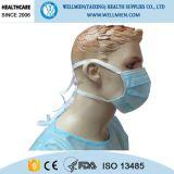 Устранимый хирургический лицевой щиток гермошлема для стационара