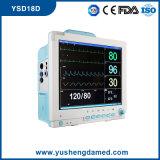 15 ce du moniteur patient Ysd18d de multiparamètre de pouce reconnu