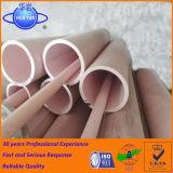 Tubi di ceramica dell'allumina refrattaria di 85%