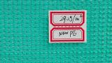 160g het groene HDPE Plastic Net van de Veiligheid van de Bouw voor de Bescherming van het Balkon, Netto Steiger