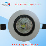 유행 디자인 백색 주거에 의하여 중단된 LED는 아래로 점화한다
