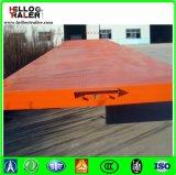 2/3 Stahlflachbettbehälter-Schlussteil der Wellen-Q235 Q345b