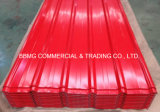 Metallstahlfarben-Dach-Blatt gewölbte Dach-Blätter der 3 Schicht-Wärmeisolierung-UPVC