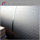 Горячий окунутый гальванизированный Checkered стальной лист