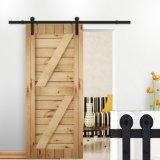Puerta corredera de granero de madera