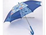 Calicó de costura azul: Paraguas del niño